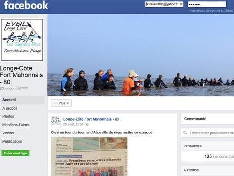 Facebook longe-côte - Fort-Mahon