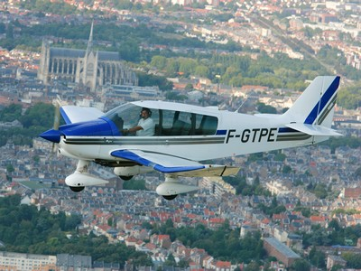 Amiens-Aeroclub de Picardie-survol Amiens ©Aeroclub de Picardie