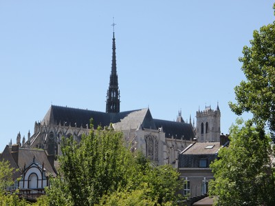 Amiens cathedrale parc St Pierre, Somme