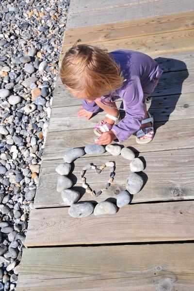 Cayeux-petite fille sur la plage©Nicolas Bryant
