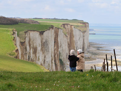 falaises, Somme