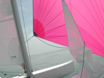 Tricat 22 catamaran ©EVEILS